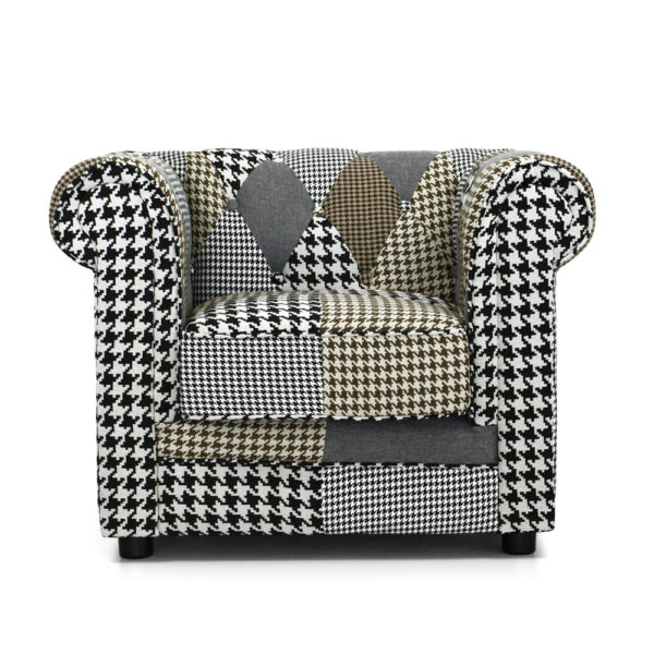 Poltrona patchwork - GEORGE