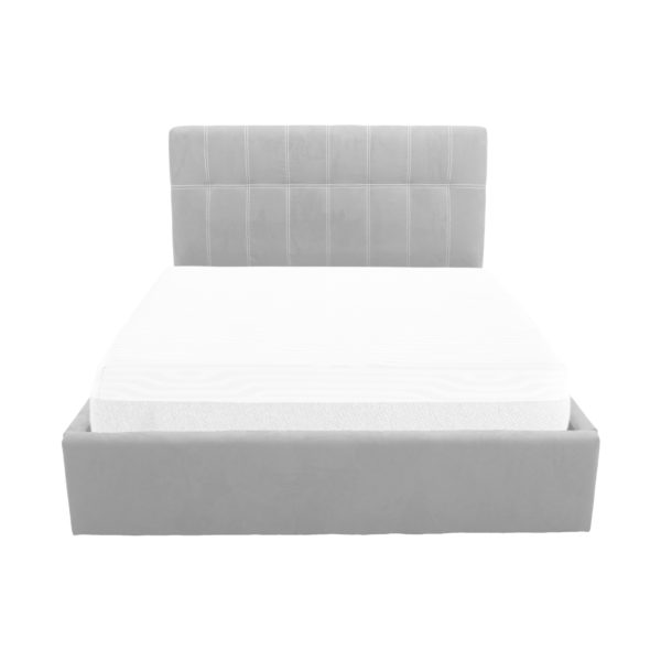 Letto SOFT 120 - Ecopelle bianco
