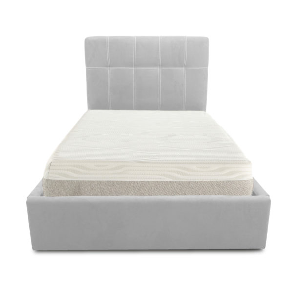 Letto SOFT 80 - Ecopelle bianco