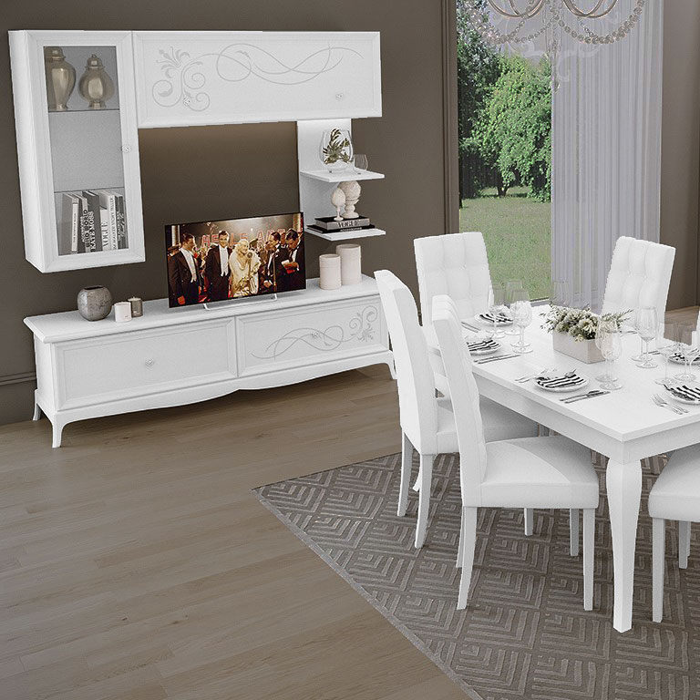 Soggiorno contemporaneo giselle living dolce casa outlet for Web mobili outlet